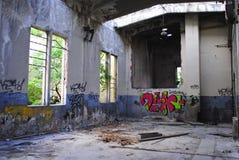 Archéologie industrielle Photo libre de droits