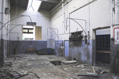 Archéologie industrielle Photographie stock libre de droits