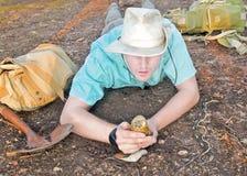 Archéologue Photo stock
