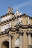 Arch. This is a view of an Arch in Florence.Piazza della Liberta Royalty Free Stock Photo