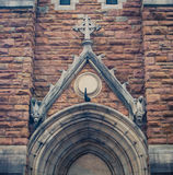 Arch above a Church Royalty Free Stock Photo