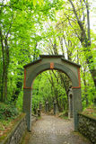 Arch along way of the cross. Stone arch along way of the cross. Religion Stock Image