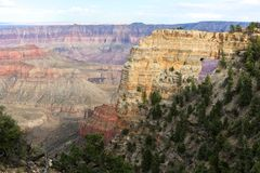 Arch at the amazing grand canyon national park. North part Stock Photography