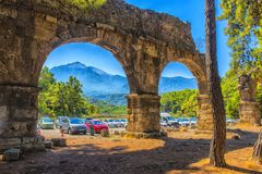Arch of the ancient city Royalty Free Stock Image