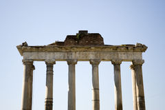 Arch  of ancient forum of rome Stock Photography