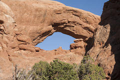Arch at Arches National Park Royalty Free Stock Images