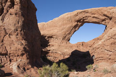 Arch at Arches National Park Royalty Free Stock Photo