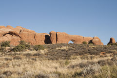 Arch at Arches National Park Stock Photography