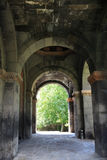 Arch of armenian church. The arch of armenian apostolic church, Armenia Stock Photography