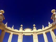 Arch in Art Nouvea style, Mondello Stock Photo