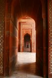 Arch At Fathepur Sikri, India Stock Photography