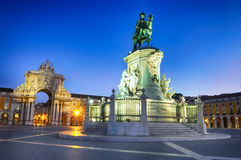 Arch of augusta in lisbon Royalty Free Stock Photos