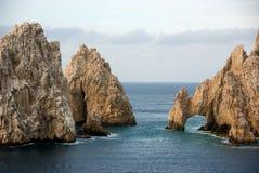 Arch at Baja California. Arch at the tip of Baja California Royalty Free Stock Photos