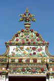 Arch beautiful. At Wat Pho Royalty Free Stock Photo