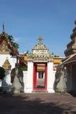 Arch beautiful at Wat Pho. In Bangkok Stock Photos