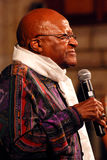The Arch Bishop Emeritus Desmond Tutu. At his official book launch , St George's Cathedral 2011 Stock Photography