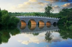 Arch bridge Royalty Free Stock Photos
