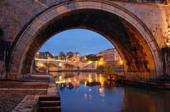 Arch of Bridge Stock Images