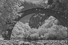 Arch bridge Royalty Free Stock Photography