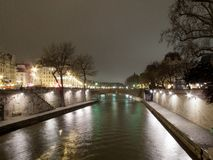 Arch bridge across a river, Pont Neuf, Seine River, Paris, Franc Stock Photo