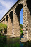 Arch bridge. Stock Image