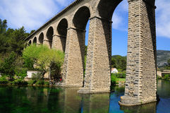 Arch bridge. Royalty Free Stock Images