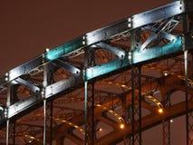arch bridge night Στοκ εικόνες με δικαίωμα ελεύθερης χρήσης
