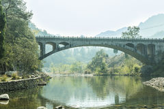 Arch bridge Stock Photography