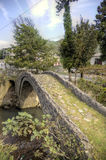 Arch bridge of Queen Tamara. Adjara, Georgia. Stock Photos