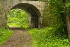 Arch Bridge Trail Stock Image
