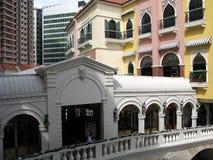 Arch Bridge, Venice Grand Canal Mall, McKinley Hill, Taguig, Metro Manila, Philippines Stock Photo