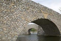 Arch bridges. A two arch bridges  background Royalty Free Stock Photos