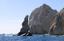 The Arch of Cabo San Lucas. In Baja California Sur, Mexico on May 2017 Stock Photos