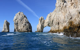 The Arch of Cabo San Lucas. In Baja California Sur, Mexico on May 2017 Royalty Free Stock Image