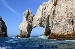 The Arch of Cabo San Lucas. In Baja California Sur, Mexico on May 2017 Royalty Free Stock Photos