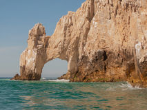 Arch at Cabo San Lucas. Famous Arch at Lands End in Cabo San Lucas, Mexico Stock Images