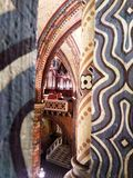 Arch in the Cathedral. Of St. Matthias in Budapest Stock Photography