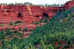 The Arch Caves of Sedona Arizona Royalty Free Stock Image