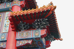 Arch of Chinese door facade Stock Photography