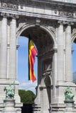 Arch of Cinquatenaire, Brussels. Belgium Royalty Free Stock Image