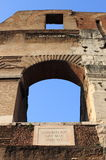 Arch of Colosseum Royalty Free Stock Photo