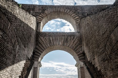 Arch of the colosseum Royalty Free Stock Photography