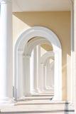 Arch columns Stock Photos