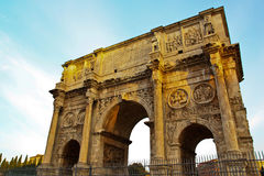 Arch of Constantin. At rome, Italy Stock Image