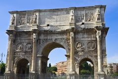 The Arch of Constantine Stock Photo