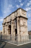 The Arch of Constantine. Near the Colisseum, Rome, Italy Stock Photo