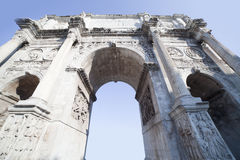 Arch of Constantine. Arch of Constantine in Rome, Italy Royalty Free Stock Photography