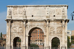 Arch of Constantine. From Rome, Italy Stock Image