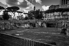 Arch of Constantine. Next to Colosseum in Rome Stock Image