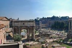 The arch of Constantine (Arco di Constantino) Stock Photos